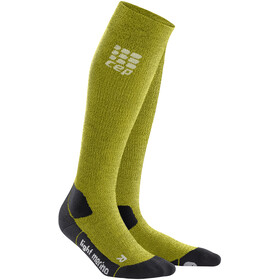 cep Pro+ Outdoor Light Merino Socks Herrer, fresh grass